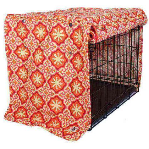 dog crate cover classic two door freckles designs papillon dog crate cover