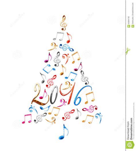 225 rbol de navidad 2016 con las notas musicales del metal