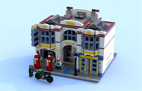 tutorial lego single car garage lego ideas the modular old garage