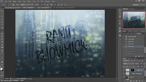 tutorial photoshop glass effect photoshop cs6 tutorial how to give writing or text effect
