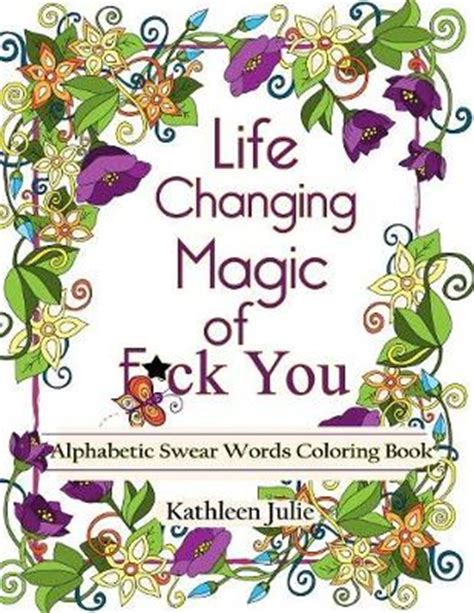 mandala coloring book waterstones changing magic of f ck you by julie