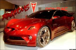 Pontiac Concept News In Pictures In Pictures End Of The Road For