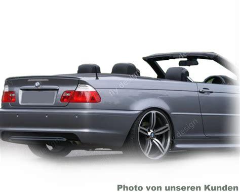Cabrio Lackieren Preis by Bmw E46 3er Cabrio Spoiler Heckfl 220 Gel Heckspoiler