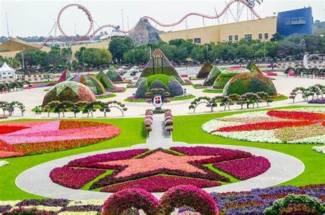 Travel Trip Journey Dubai Miracle Garden World Biggest Largest Flower Garden In The World