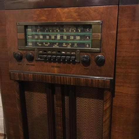 rca victor antique rca victor radio console collectors weekly