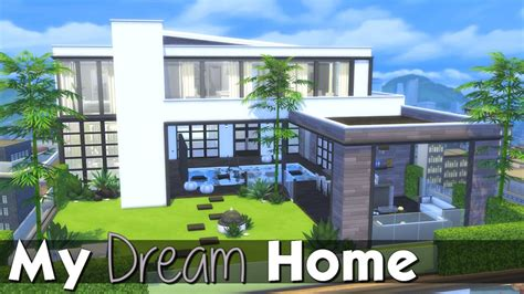 create my dream house the sims 4 speed build modern penthouse my dream home
