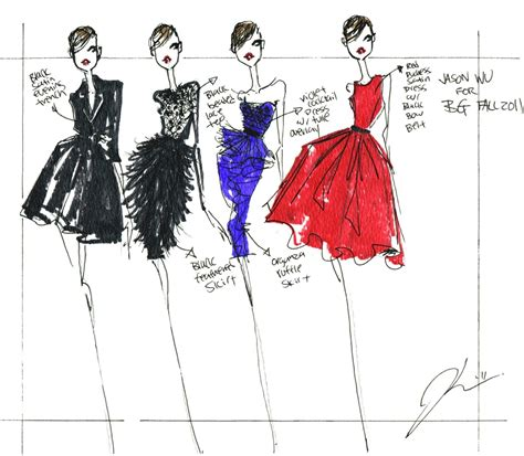 fashion illustration website jason wu fashion sketches jason wu s website