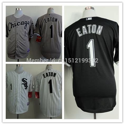 Jersey Baseball Limited 1 freeshipping new 1 adam eaton mens baseball jersey chicago