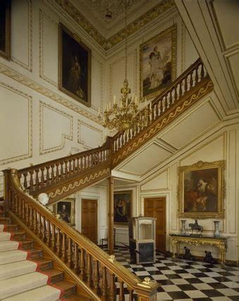 staircase hall  belton house belton house