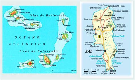 mapa de cabo verde 191 qu 233 ver en cabo verde gu 237 a completa de isla de sal y boa