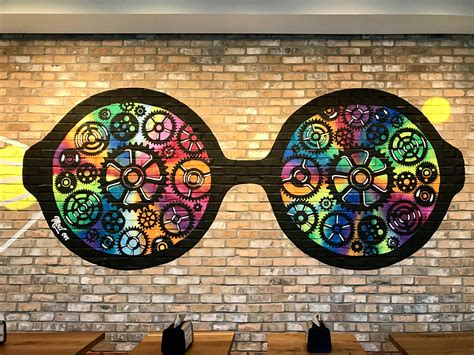 murals  mod pizza  san antonio graffiti usa