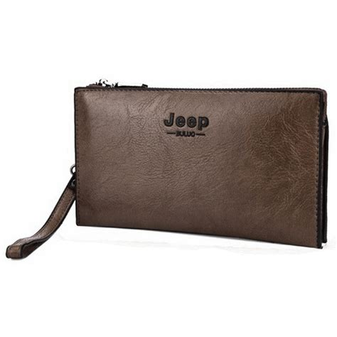 Dompet Jeep Jeep Bluluo Dompet Handbag Pria Brown Jakartanotebook