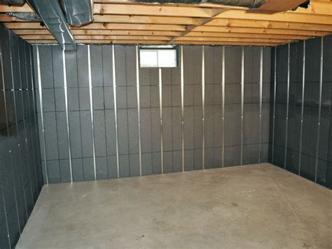 Insulated Basement Wall Panels Basement Cold Floors Over Basements How To Create A Warmer Floor
