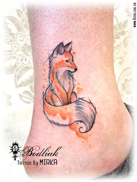 watercolor tattoos animals mini 2016 slovakia zilina bodliak bodliaktattoo