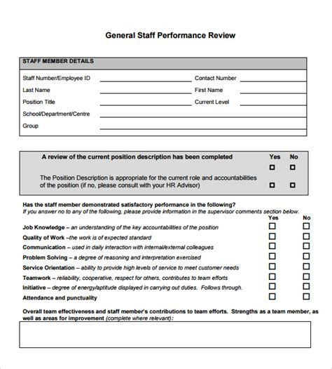 sle performance review 6 documents in pdf word