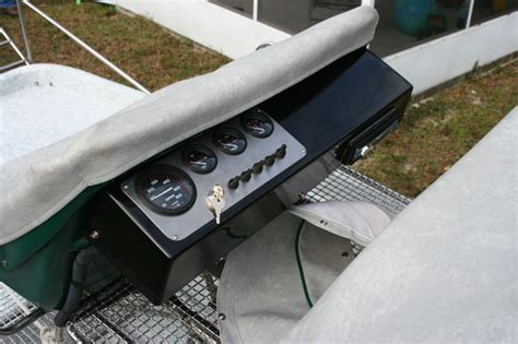 airboat console dash vs console southern airboat