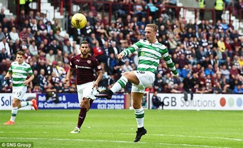 Hearts 1 2 celtic scott sinclair scores winner on debut as brendan