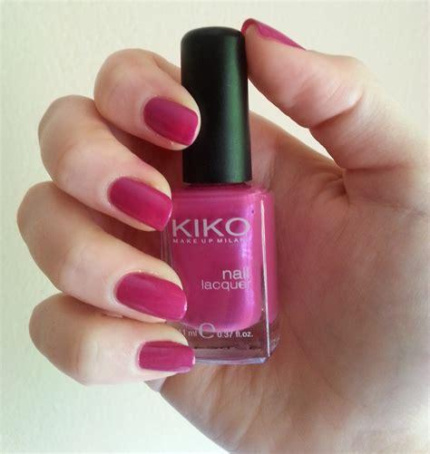 smalto gel senza lada kiko smalto kiko n 176 251 peonia rosa make up more