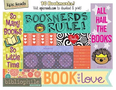 printable bookmarks cool 8 best images of free printable bookmarks cool free