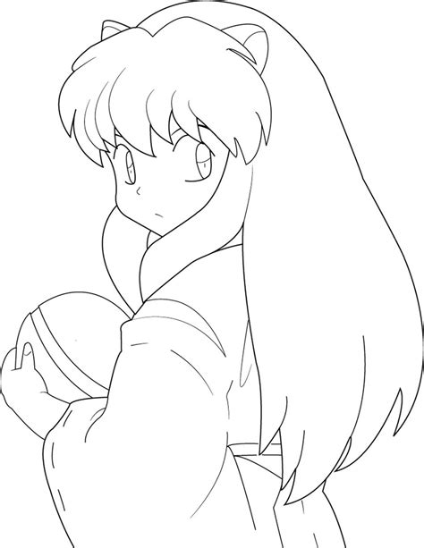 Pintar A Inuyasha Imagui Anime Vire Coloring Pages Printable