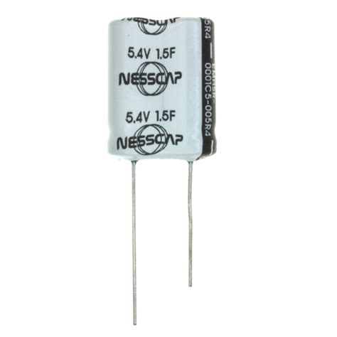 nesscap ultracapacitor datasheet emhsr 0001c5 005r0 datasheet specifications capacitance 1 5f voltage