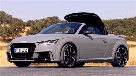 Audi Tt Design by Design 2017 Audi Tt Rs Roadster Caricos