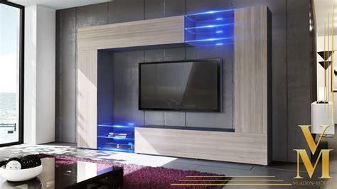 Black High Gloss Furniture Living Room by Wall Unit Living Room Furniture Mirage Black High Gloss