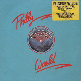 eugene wilde gotta get you home tonight 12inch philly