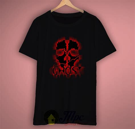 T Shirt Kaos Call Of Duty Ghost call of duty ghost t shirt available size s m l xl