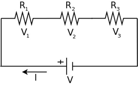 resistor in series diagram why the current is same in series circuit quora