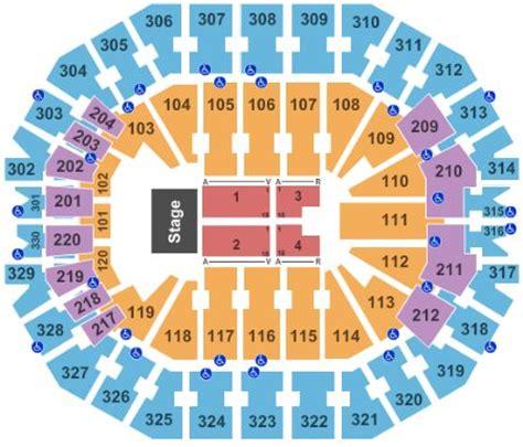 kevin hart qudos seating kfc yum center tickets and kfc yum center seating chart