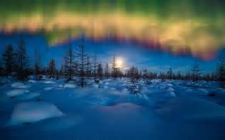 hd wallpapers winter aurora borealis wallpapers hd wallpapers