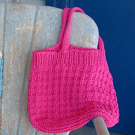 tote bag knitting pattern pattern for knit shopping tote bag hand knit pattern purse bag