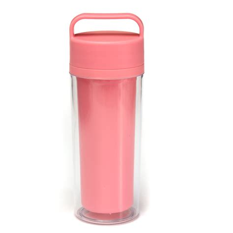 12oz Double Wall Water Bottle Insulated Portable Travel Drink Coffee Mug Tea Cup   eBay