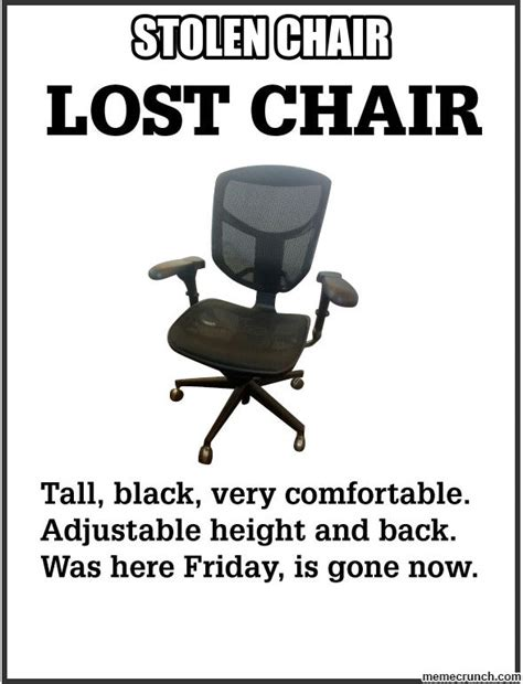 Meme Chair - new office chair meme relaxed office memes imgflip