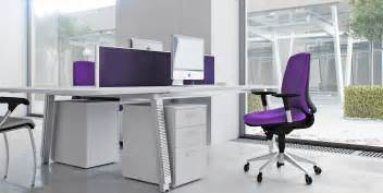 Swivel Office Chair Design Ideas Captivating Modern Office Chair With Soft Purple Fabric Mixed With White Desk With Border