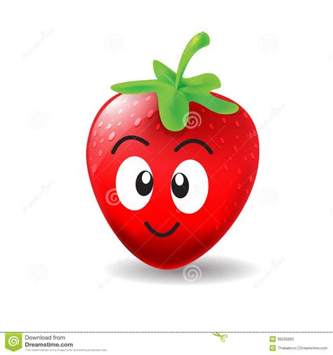 strawberry cartoon cute cartoon strawberry www pixshark com images