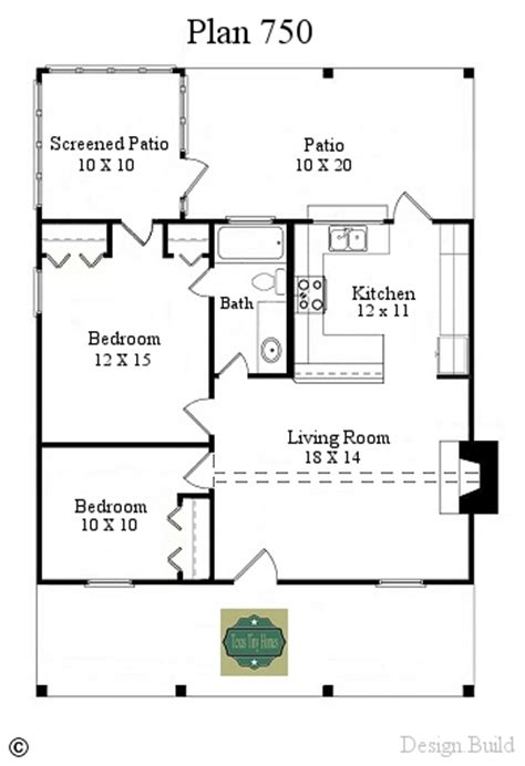 tiny house plans texas tiny homes plan 750