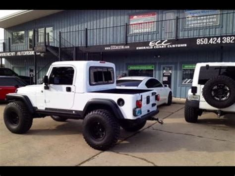Jeep Wrangler Truck Kit Jeep Rubicon Truck Conversion Gr8top W Pro Comp Wheels