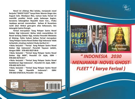Novel Indonesia Buku Novel Hans Dan Danur Original Risa Saraswati indonesia 2030 menjawab novel ghost fleet jejak publisher
