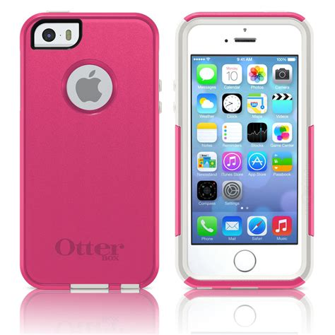 Iphone 5 5s Pink otterbox iphone 5 5s commuter avon pink white