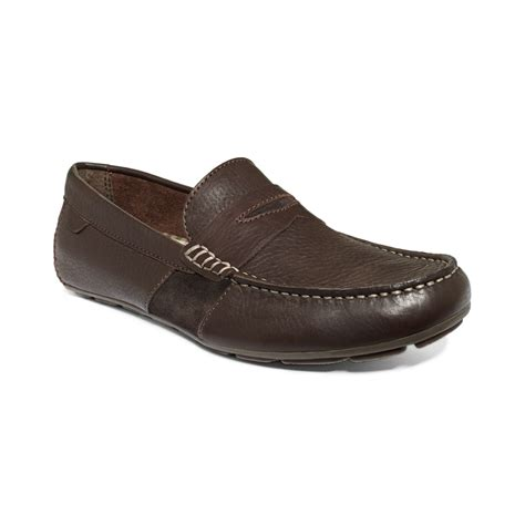 top loafers sperry top sider wave driver loafers in brown for