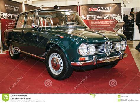 6 Car Garage Plans alfa romeo giulia super 1600 1965 editorial photography