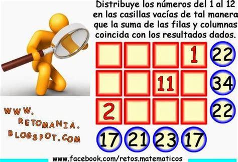 imagenes con retos matematicos reto matem 193 tico 4 retos matem 193 ticos