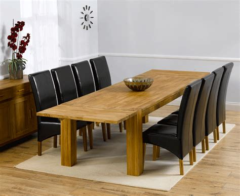 Dining Tables Canberra Madeira 240cm Solid Oak Extending Dining Table With Canberra Chairs