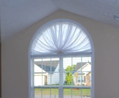 Half Moon Blinds For Windows Ideas Half Moon Window On Pinterest Arched Window Coverings Arched Window Curtains And Arched