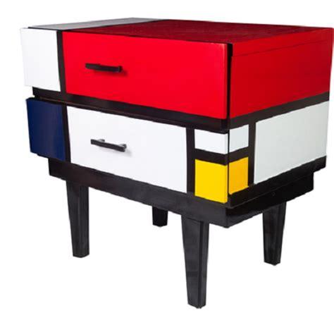 de stijl nightstand dedicated to de stijl pinterest