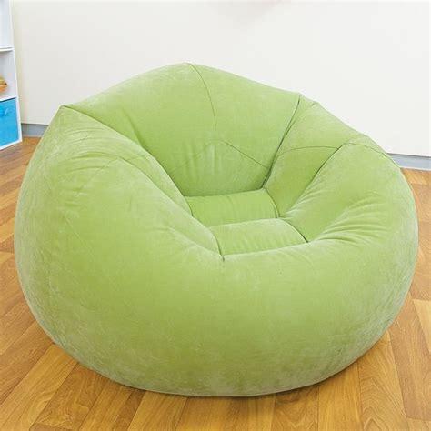 pouf si 232 ge fauteuil gonflable design et color 233 vert