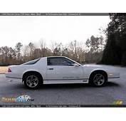 1986 Chevrolet Camaro Z28 Coupe White / Black Photo 10  DealerRevs