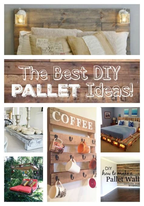 Diy Wood Home Decor The Best Diy Wood Pallet Ideas Kitchen With My 3 Sons